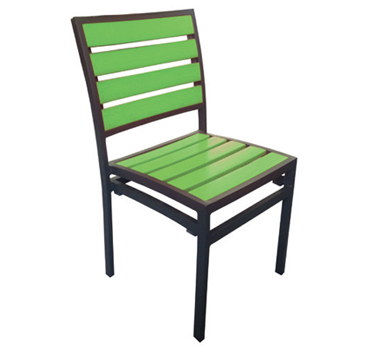 Chair Green  Code PWKCG W 470 x D 500 x H 830mm