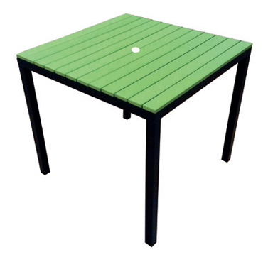 Table Green  Code PWK800G W 800 x D 800 x H 757mm