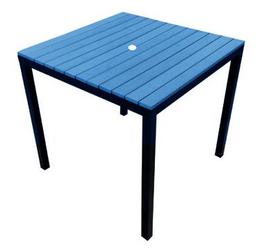 Table Blue  Code PWK800B W 800 x D 800 x H 757mm