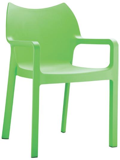 Side Chair  W 440 x D 500 x H 810mm  Green : Code CC4206 Orange : Code CC4206 Red : Code CC4206 Black : Code CC4206