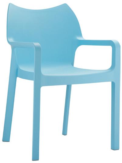 Arm Chair  W 570 x D 530 x H 850mm  Green : Code CC4206 Orange : Code CC4206 Red : Code CC4206 Black : Code CC4206