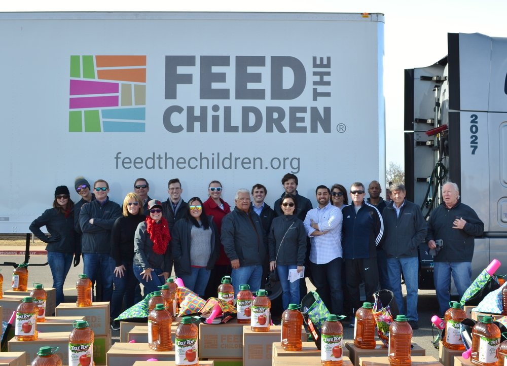 NAI Sullivan professionals at the Feed the Children Event