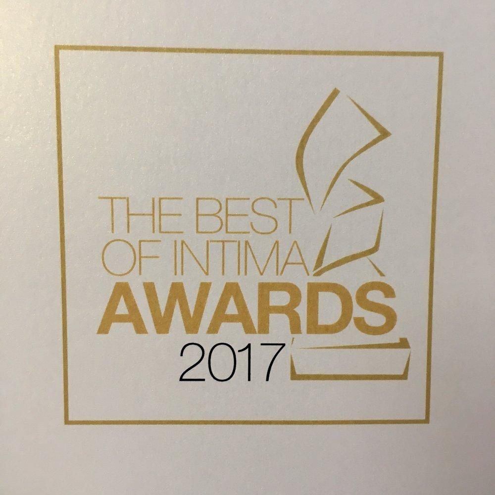 Well, we've been invited to the best of Intima again this year, but now we are finalists. That means we're one of the top 10 lingerie shops in the country according to the major brands (such as Simone Perele & Cosabella). What is it that makes us so unique? A caring approach, above par merchandise, and a tasteful environment (to start.) Larisa will be taking one of our customers (Susan B. of Wilmette) on a buying excursion to New York, where they will attend the Best of Intima Gala. Susan B. has a healthy and terrific view of lingerie. Can't wait to take her deep into the lingerie universe.