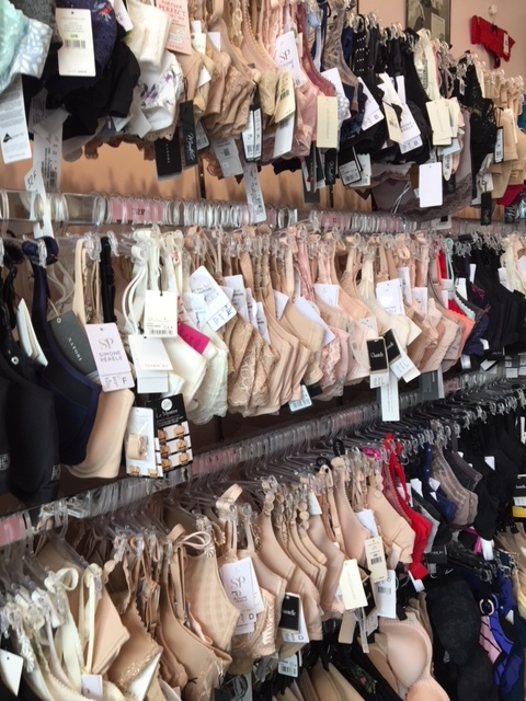 We have the best selection of European, top notch bras in Illinois. No one's going home without some bras!