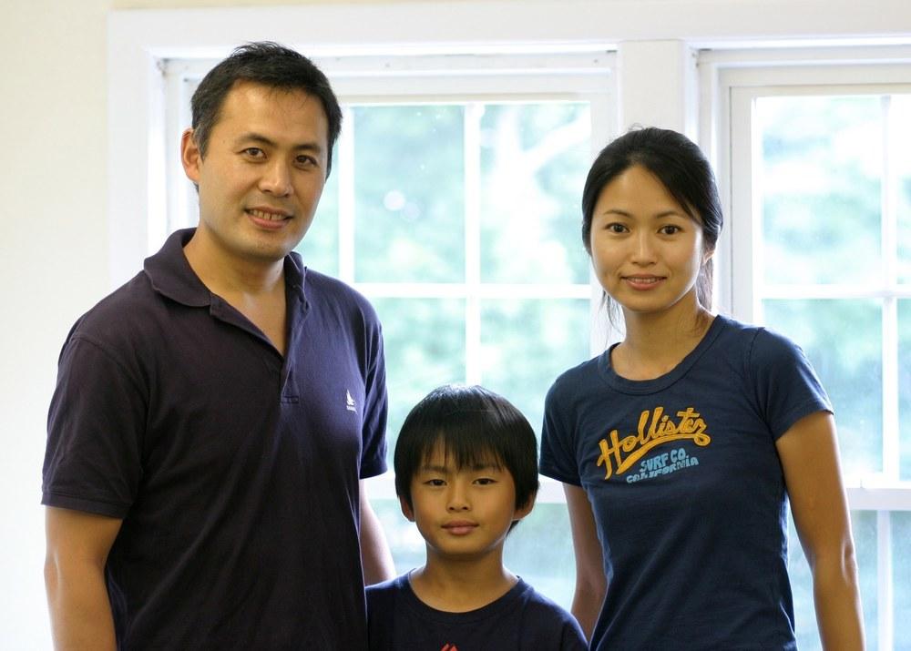 Dr. Takuya Ueno & family