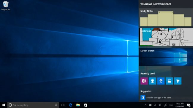 Windows 10 Ink