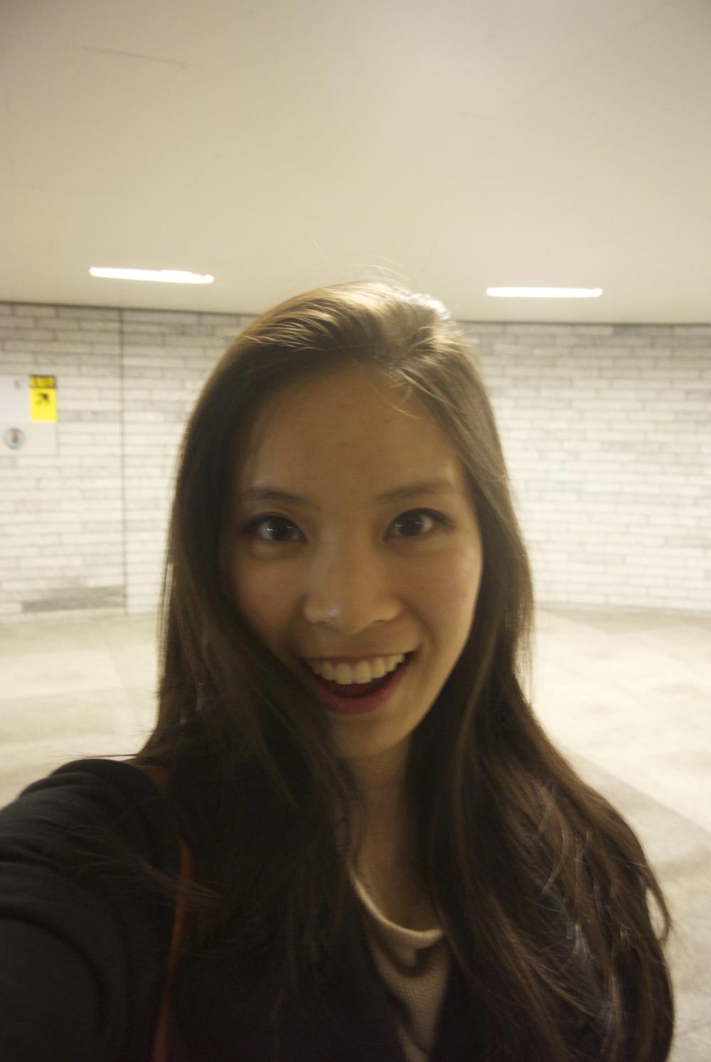 Selfie opp!
