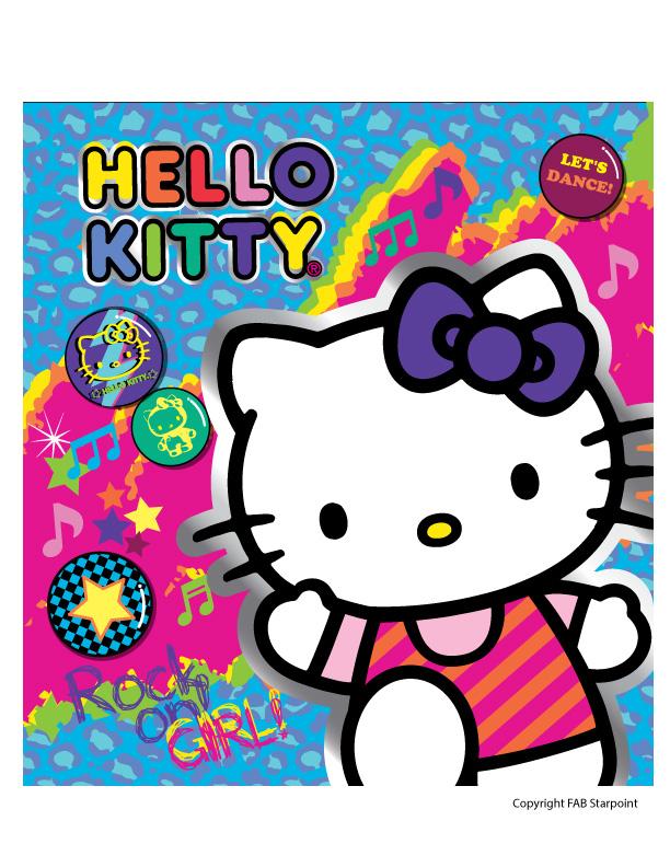 Hello Kitty Rocker