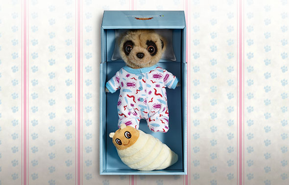 Meerkat Plush Toy