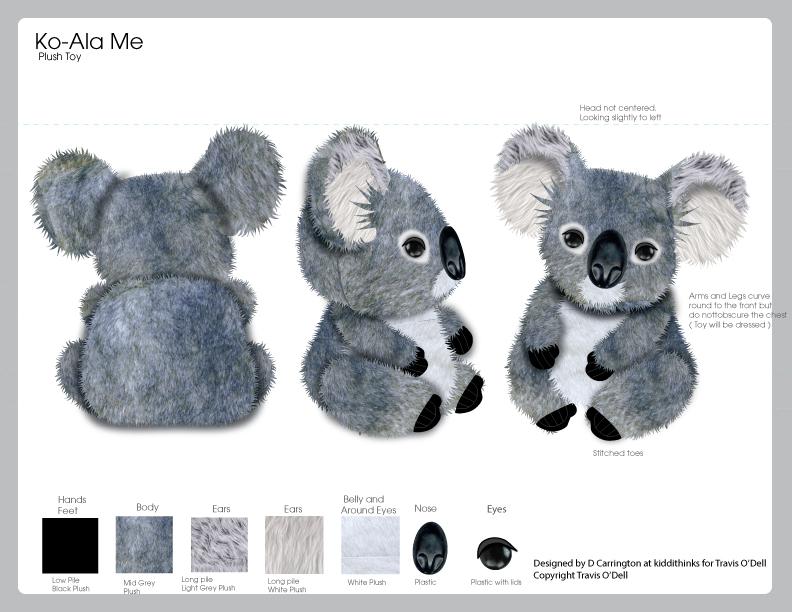 Koa-La Me Plush Bear