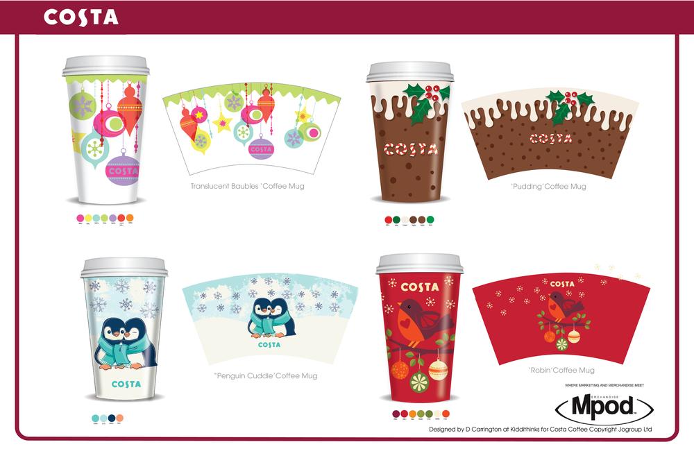 Costa Mugs