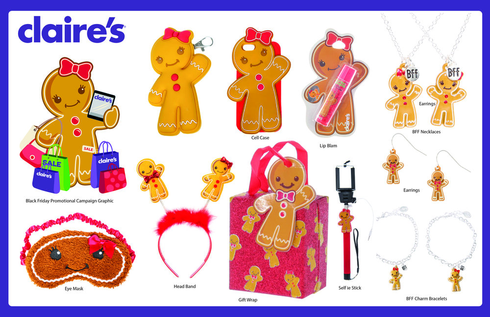 Holiday Gifts For Claires