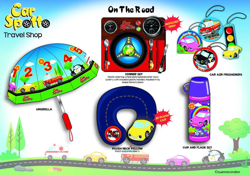 Car Spotto Travel Accessories