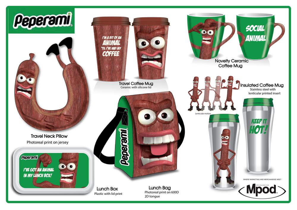 Peperami Merchandise