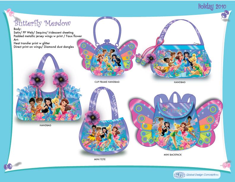 Disney Fairies 'Butterfly' Bags