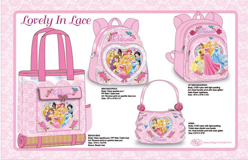 Princess 'Lace' Bags