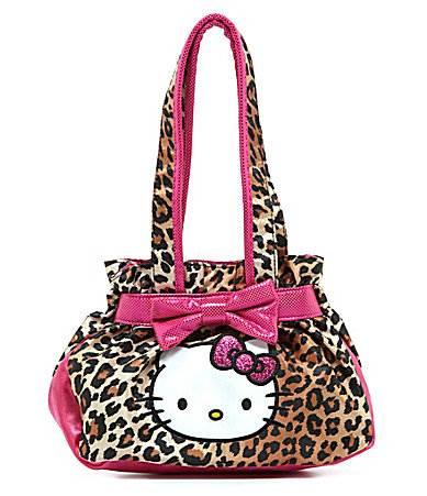 Hello Kitty Leopard Handbag