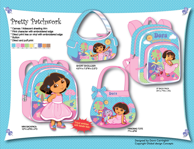 Dora Patchwork Bags