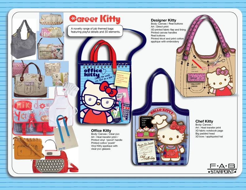 Hello Kitty Novelty Totes