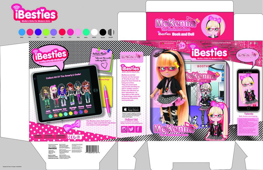 Ibesties Doll Packaging