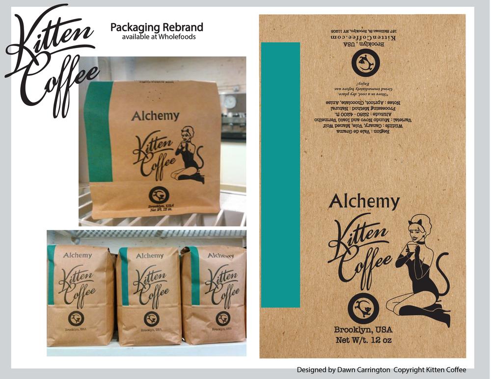 Kitten Coffee Packaging