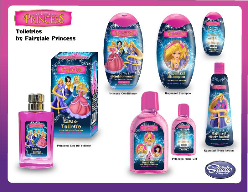 Princess Toiletries Packaging