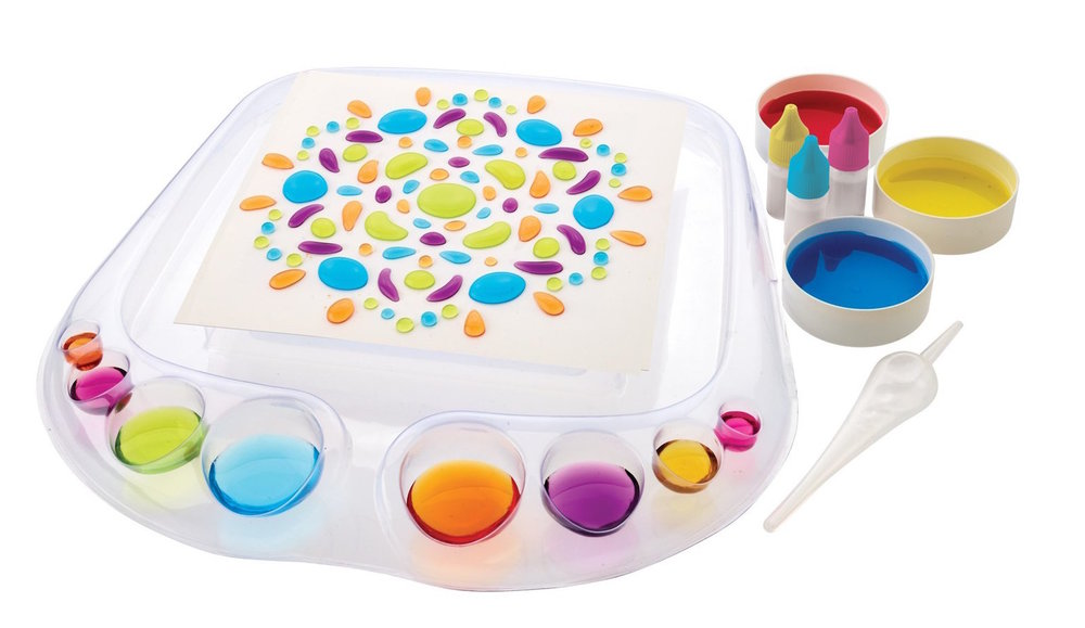 """ormerly known as Liquid Art, Artsplash beat out over 35 toy inventions to win ABC's """"The Toy Box."""""""
