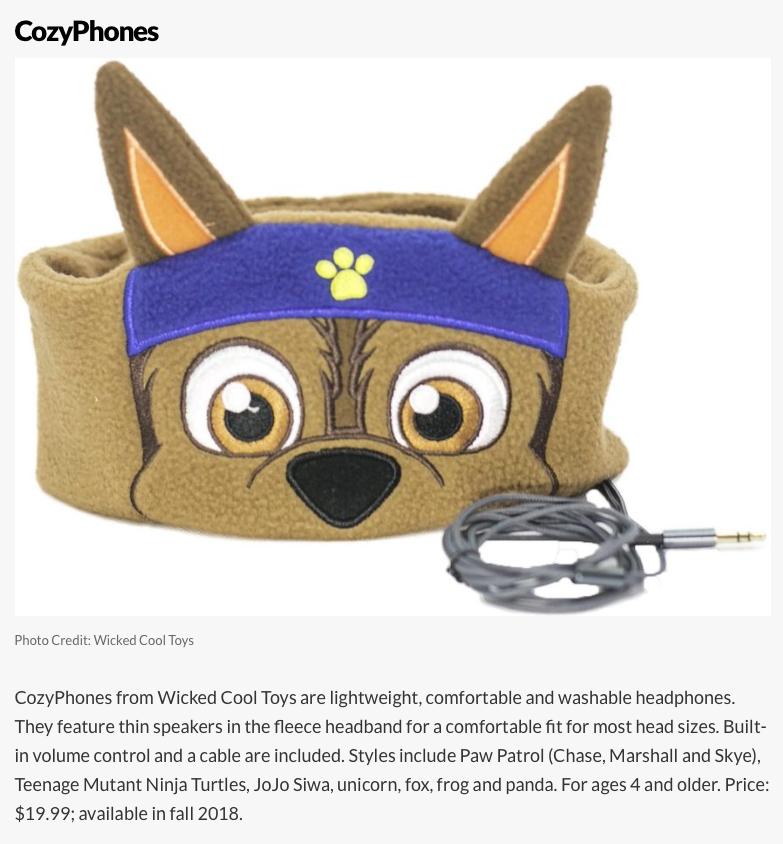 ChaseCozyPhones Headband Headphones designed by D Carrington