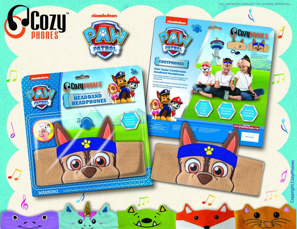 Paw Patrol CozyPhone Packaging