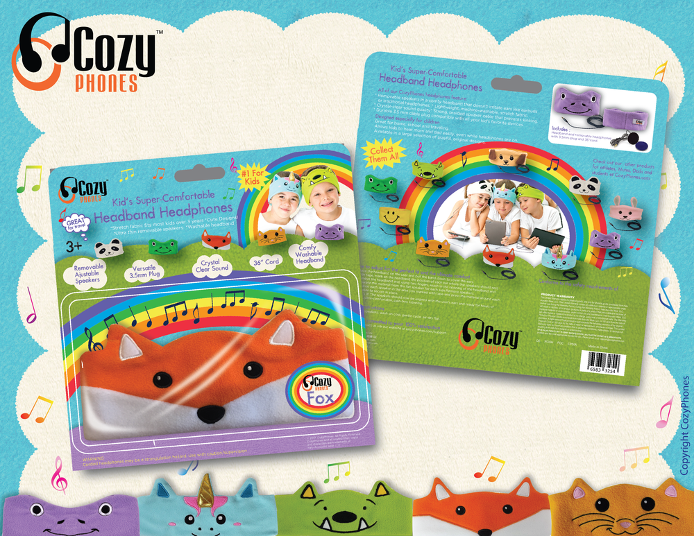 CozyPhones Packaging