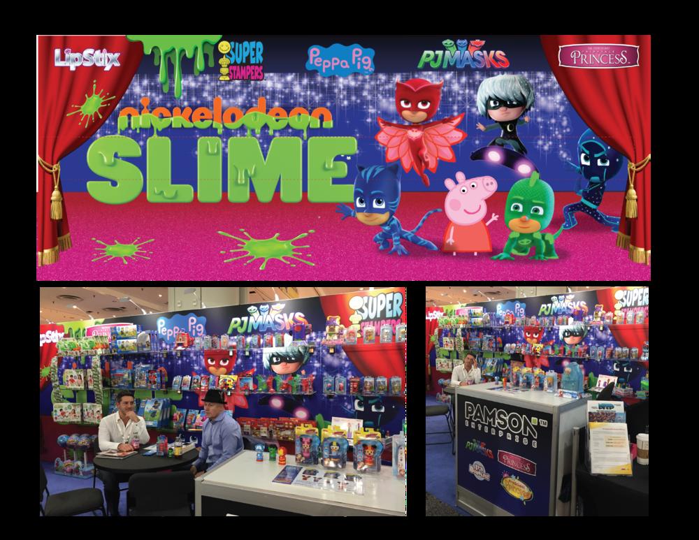 Pamson Booth NY Toy Fair