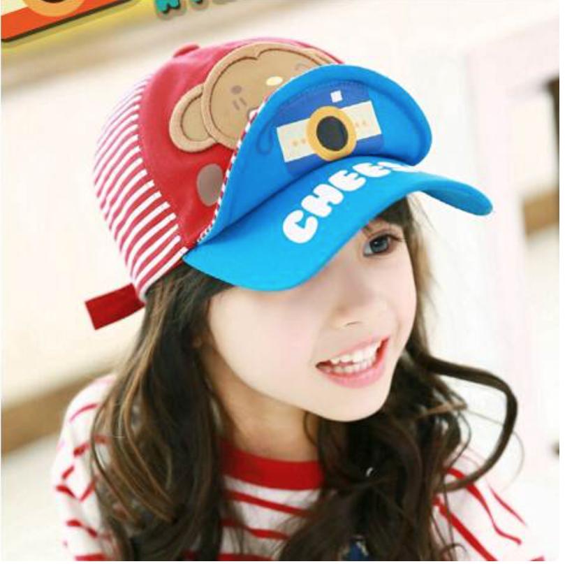Kids camera hat