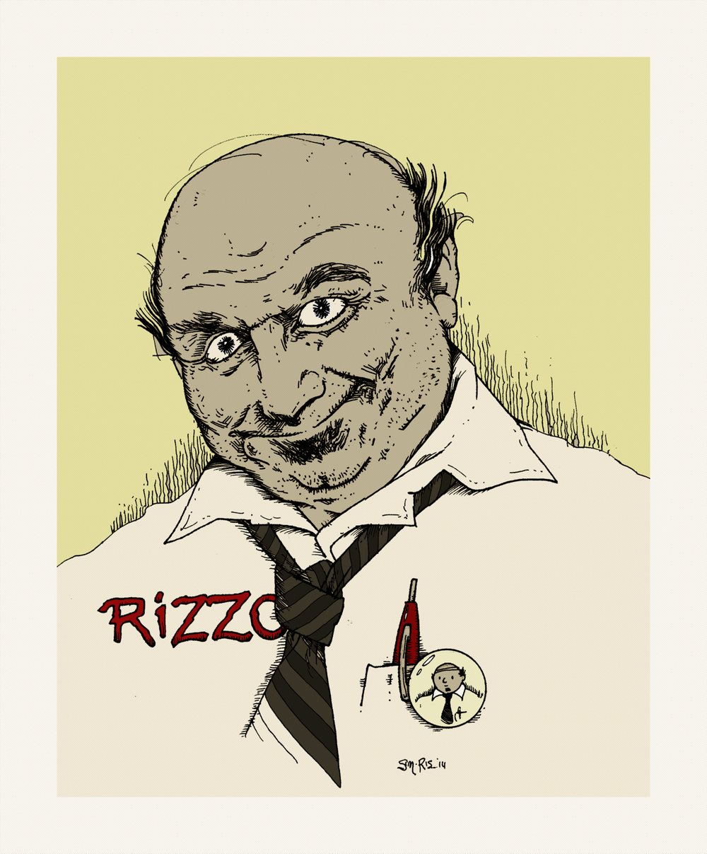 "Cragen ""Rizzo"" Rizzowski  is a teacher and writer, residing in Tromso, and the co-creator  (with W. Bill Czolgosz)  of the eponymous meta-comic strip."