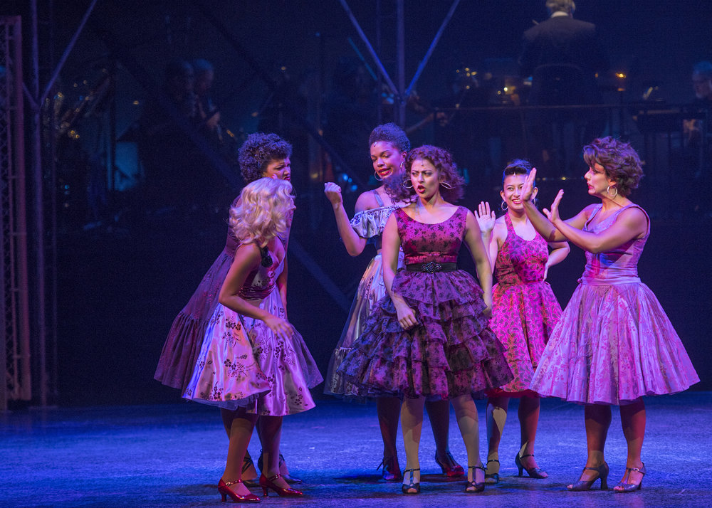"Hannah just closed ""West Side Story"" at the Lyric Theatre of Oklahoma, starring as ""Rosalia"" opposite Desi Devar, MaryJoanna Grisso, Austin Colby and Chris Rice."