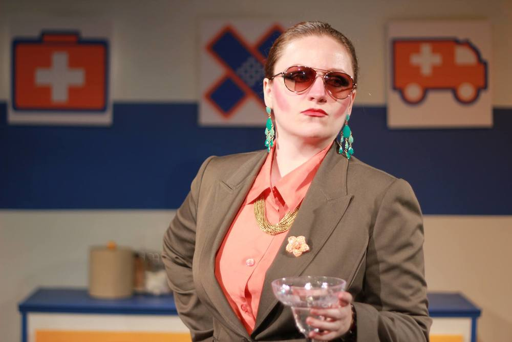 Sarah Coe in 2012 Playwrights Festival winner  The Practice Child