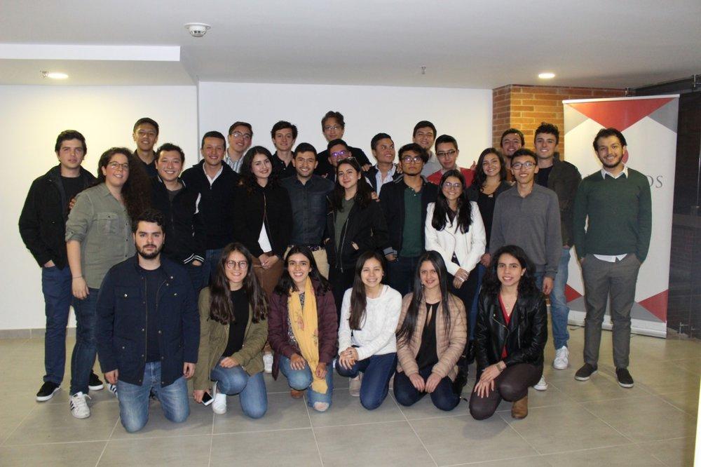 Miembros del equipo SUPUESTOS 2018-2.
