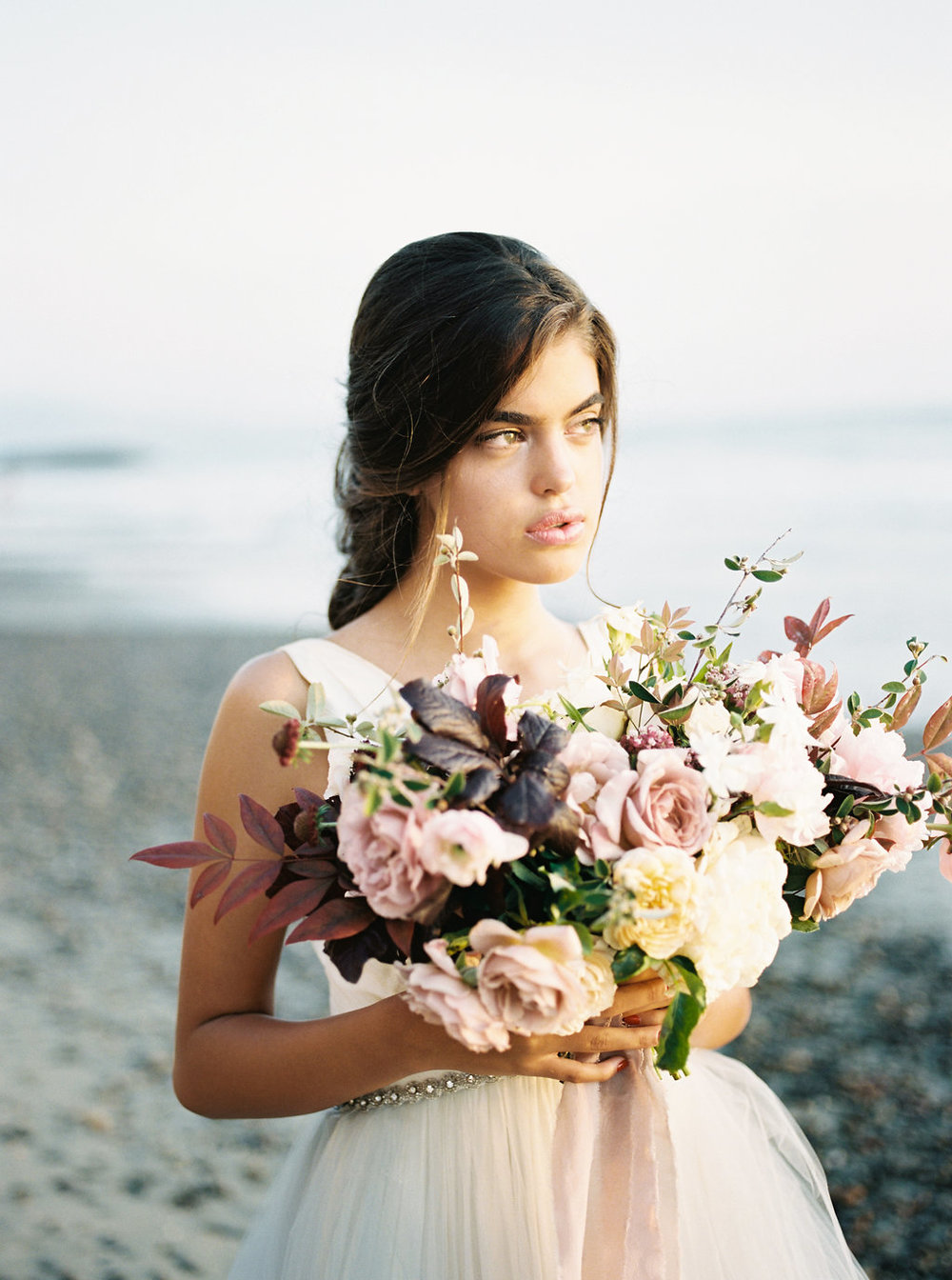 Torrey Pines Beach Bridal Inspiration