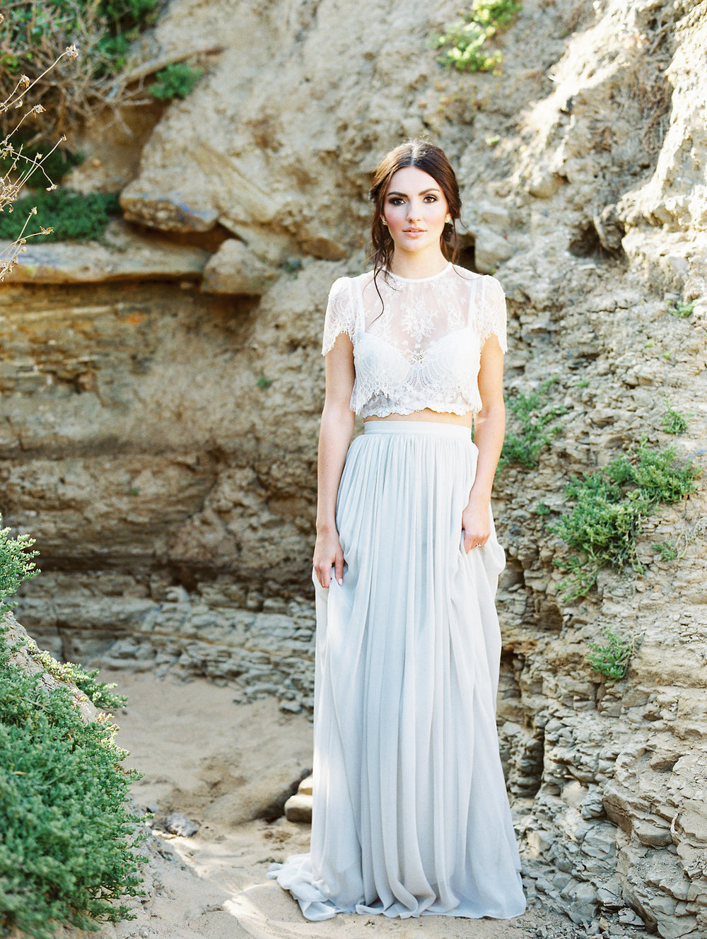 Plum and Berry Bridal Shoot