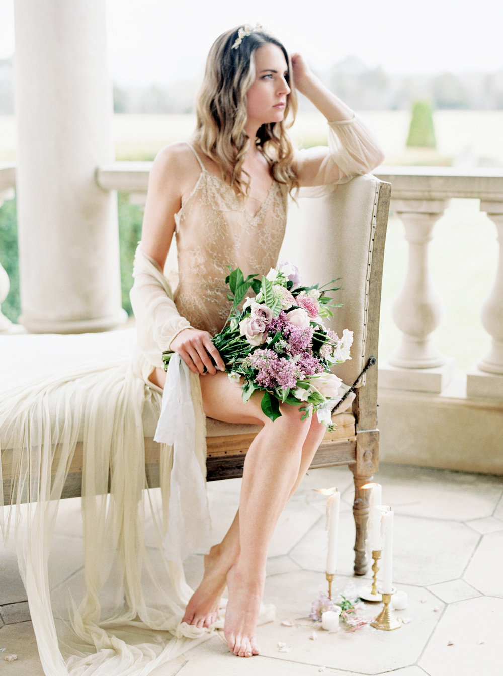 Sultry and Romantic Boudoir