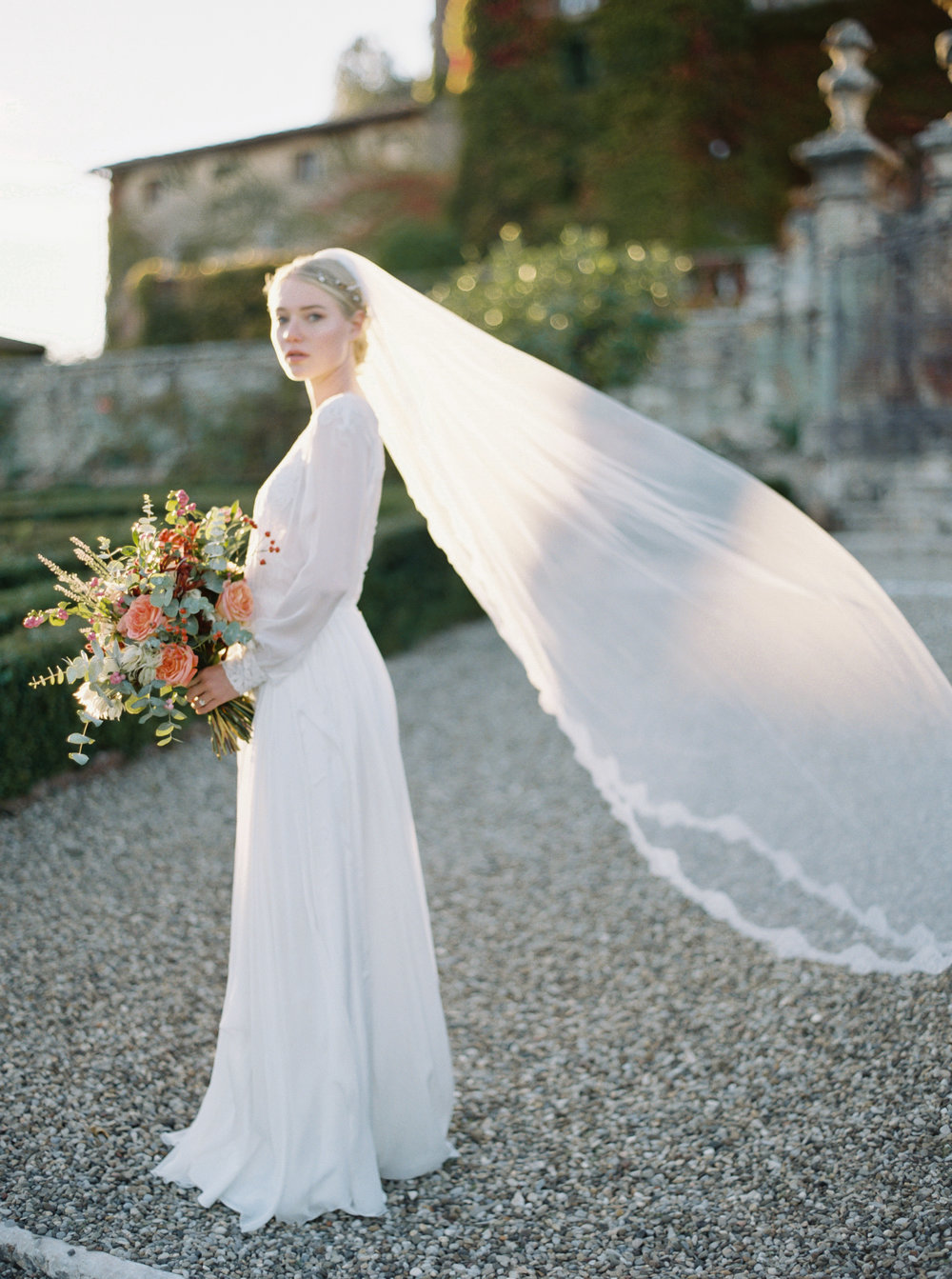 Historically Inspired Editorial in Tuscany