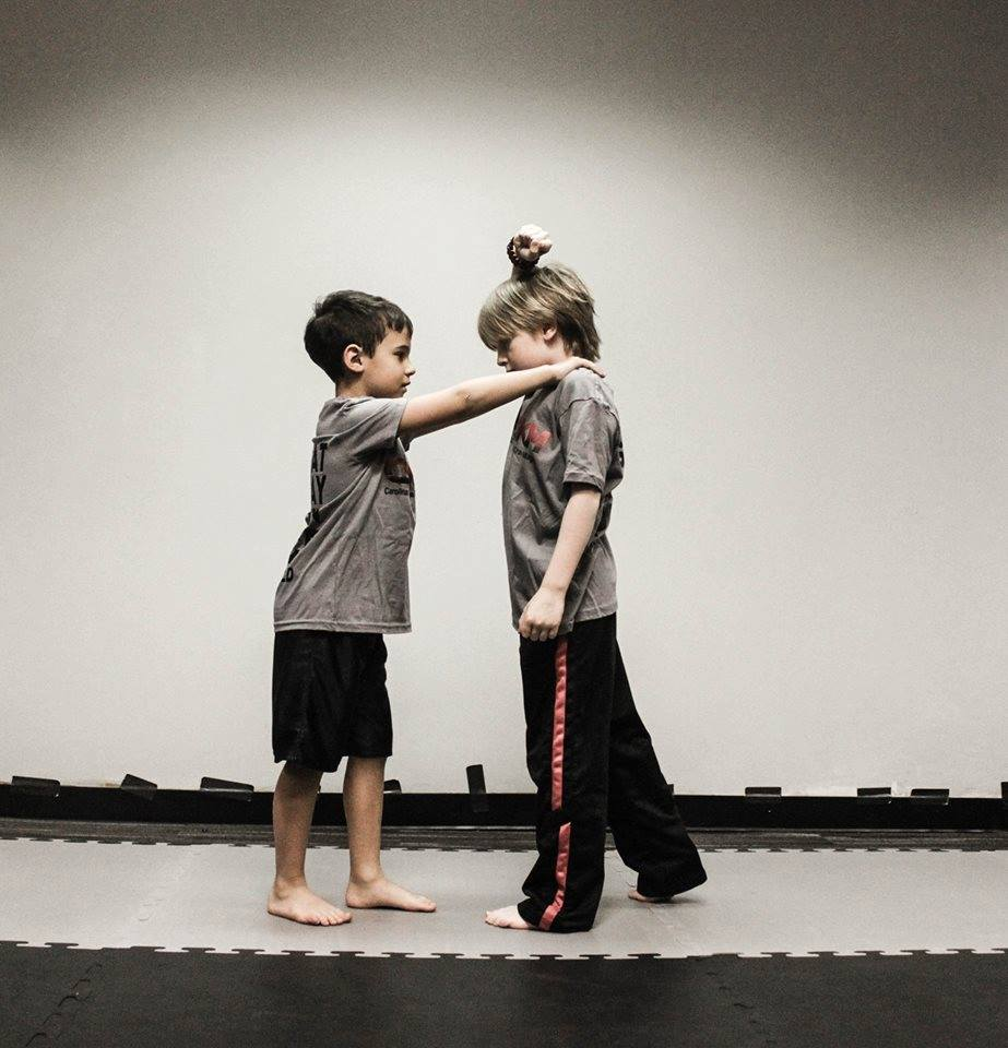 Equip The Victim - A confident child is a strong child. In the Champion's Krav Maga program, your child will be empowered with an unshakable confidence. Champions will learn how to avoid and de-escalate dangerous situations using verbal strategies, as well as self-defense techniques to keep them safe if they are physically attacked.