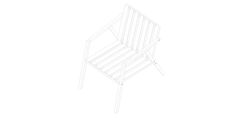 S1   Madera maciza de guatambú. Estructura abulonada ensamblable.  Dimensiones: - 800 x 600 x 500  Valor $4160.- + I.V.A.   Terminación: lustre de cera natural