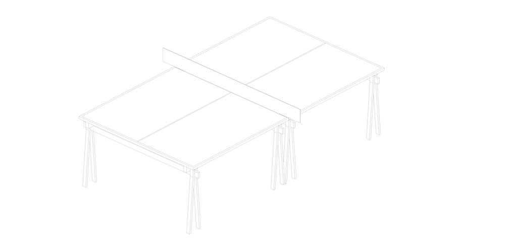 PNG PNG   Estructura metálica  Placa aglomerado y madera de guatambú maciza  Valores: - 1525 x 2740 x 755  $18.720.- + I.V.A.    Material de erminación: laca poliuretánica satinada