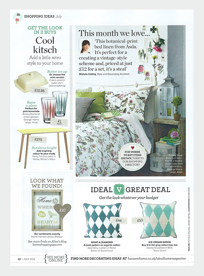 Winter's Moon Press - Ideal Home, July 2014