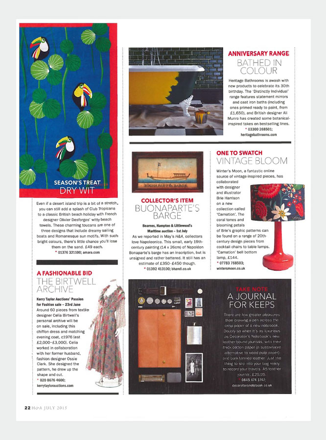 winter's moon press - homes & antiques july 2015