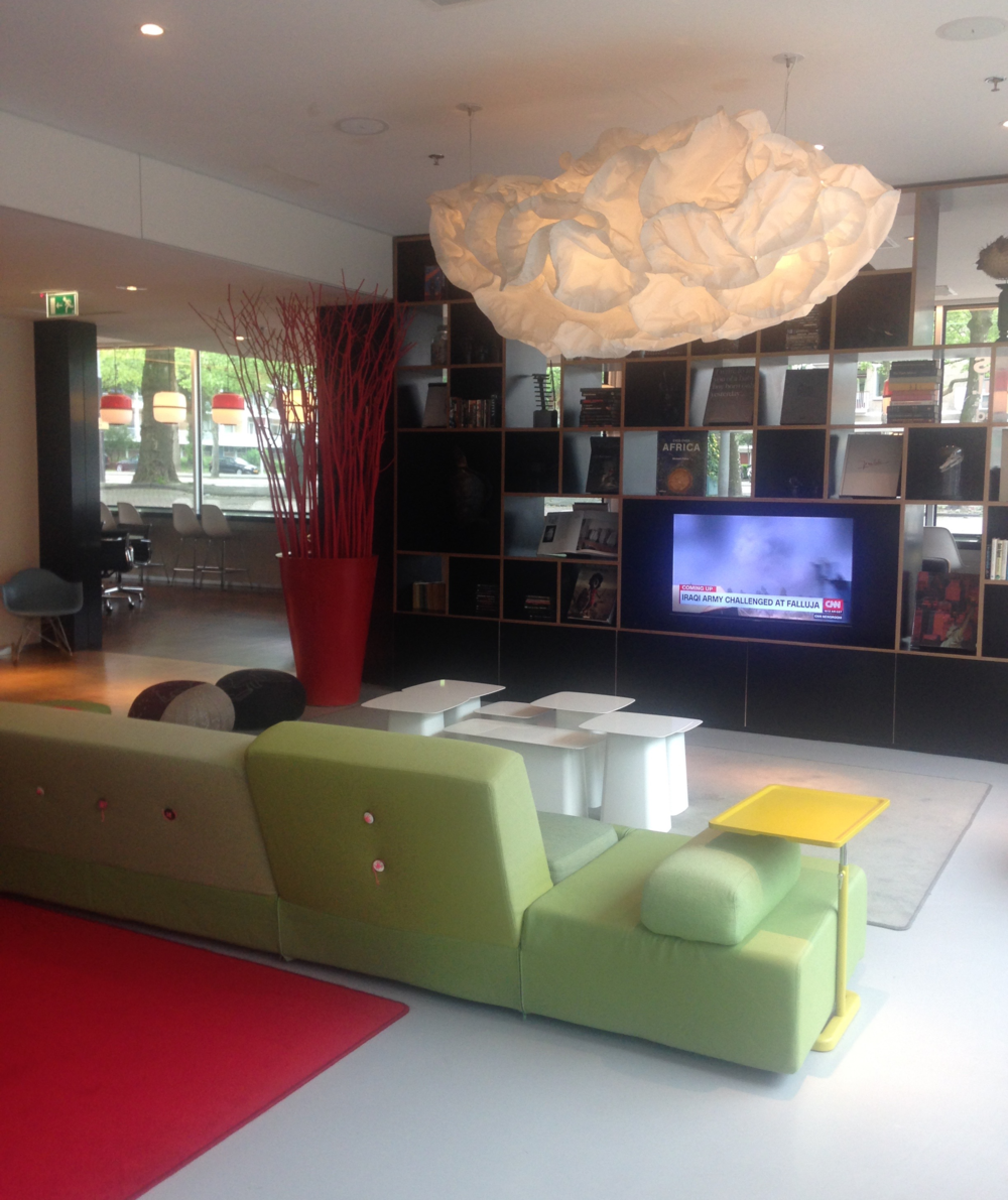 Citizen M Hotel, Amsterdam - Lobby