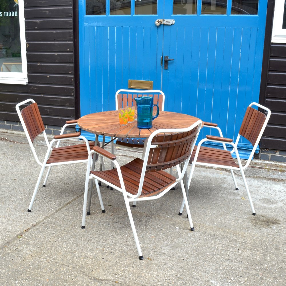 At the time of writing we have a couple of sets of vintage Danish garden  chairs for sale, and also use some at home. They were so well made with a  really ... - Winter's Moon Vintage, Midcentury & Modern Furniture Chichester