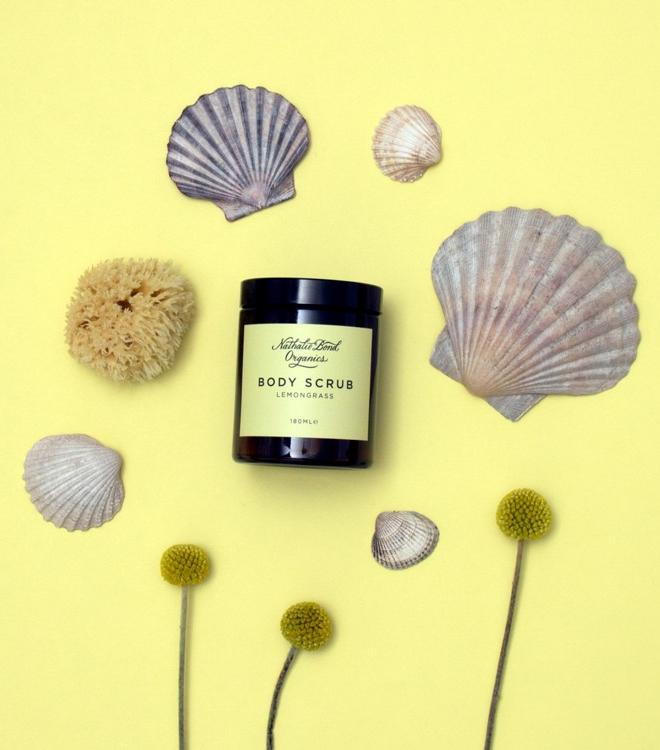 Winters-Moon-Nathalie-Bond-lemongrass-body-scrub-and-shells.jpg