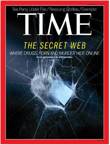 dark web - Time cover