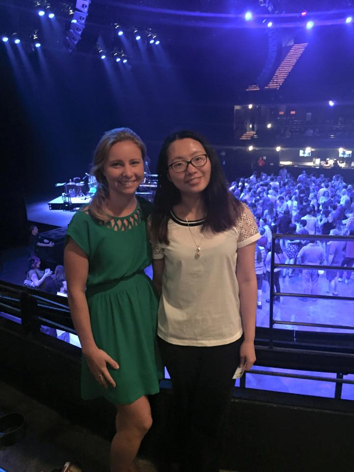 Alli and I went to see the Punch Brothers at ACL Live.